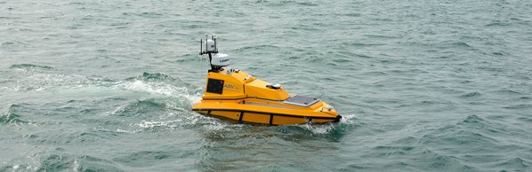 Yellow sea surface vehicle